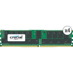 Crucial 128GB DDR4 2133 MHz RDIMM Memory Kit (4 x 32GB)