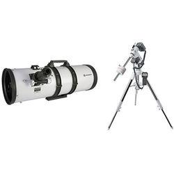 "BRESSER 8"" f/3.9 Reflector Telescope with Exos-2 GoTo Motorized Mount and Tripod"