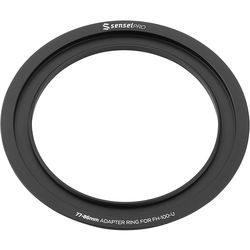 Sensei Pro 77mm Adapter Ring for 100mm Aluminum Universal Filter Holder