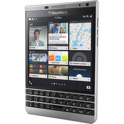 BlackBerry Passport SQW100-4 32GB Smartphone (Unlocked, Silver)