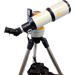 iOptron Cube-G-R80 SmartStar 80mm f/5 Refractor Telescope with GoTo Mount (Cosmic Orange)
