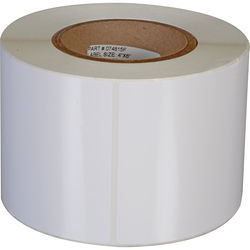 "Primera White TuffCoat High-Gloss Labels (4 x 6"", 450 Labels)"