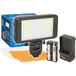 Vidpro Ultra-Slim LED-150 On-Camera Video Lighting Kit