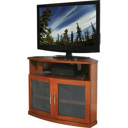 PLATEAU Newport 40 Corner TV Stand (Walnut)