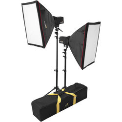 Impact Two Monolight Kit with Bag (120VAC)
