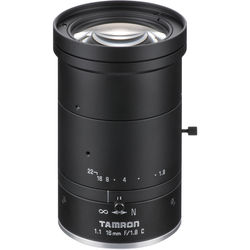 Tamron 12MP 16mm Fixed Focal Lens with f/1.8 Aperture (C-Mount)