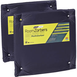 "geerfab acoustics MultiZorber 24 x 24"" Acoustic Panel (Pair, Black)"