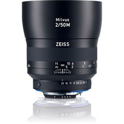 Zeiss Milvus 50mm f/2M ZF.2 Lens for Nikon F