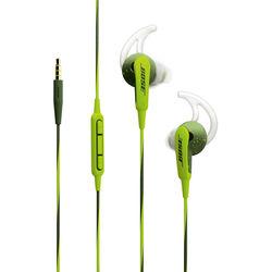 Bose SoundSport In-Ear Headphones-Apple Devices (Energy Green)