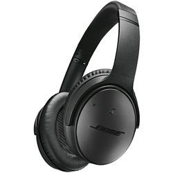 Bose QuietComfort 25 Acoustic Noise Cancelling Headphones for Apple Devices (Triple Black)