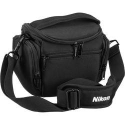 Nikon Compact Camera Bag for COOLPIX or Nikon 1 Camera (Black)