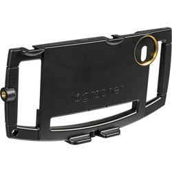 IOGRAPHER Mobile Media Case for iPhone 6 Plus/6s Plus (Black)