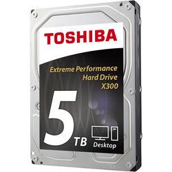 "Toshiba 5TB X300 7200 rpm SATA III 3.5"" Internal Hard Drive"