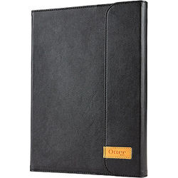 Otter Box Agility Shell, Portfolio, and Wall Mount for iPad Air and iPad Air 2 (Black Leather)