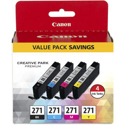 Canon CLI-271 CMYK Ink Tank 4-Pack