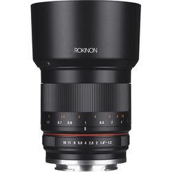 Rokinon 50mm f/1.2 Lens for Canon EF-M (Black)