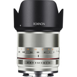 Rokinon 21mm f/1.4 Lens for Micro Four Thirds (Silver)