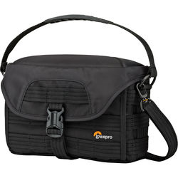 Lowepro ProTactic SH 120 AW Shoulder Bag for Mirrorless Camera System (Black)