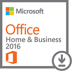 Microsoft Office Home & Business 2016 for Windows (1-User License, Download)