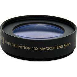 Opteka 55mm 10x High Definition II Professional Macro Conversion Lens