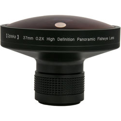 Opteka Platinum Series 0.2X 37mm HD Panoramic Vortex Fisheye Lens