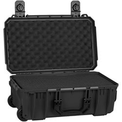 Seahorse SE830 Case with Telescoping Handle with Foam (Black)