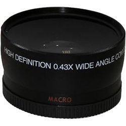 Opteka 0.43x Super-Wide Angle Macro Converter Lens for 72mm Filter Thread (Black)
