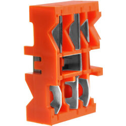 """Greenlee Blade Cassette for CST Coax Stripper (Orange, Strip Lengths 0.327"""" and 0.146"""")"""