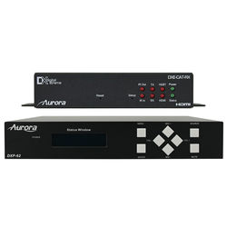 Aurora Multimedia DXP-62K-1 Scaler/Switcher and HDBaseT Receiver Kit