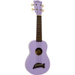 MAKALA MK-SD/PL Dolphin Soprano Ukulele (Purple/Lavendar Gloss)