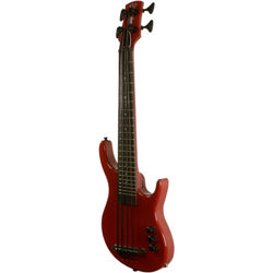 KALA U-BASS-SUB4FS Solid Body SUB U-Bass (Red)