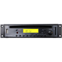 Rolls HR72X - Rack Mountable CD/MP3 Player with XLR Output Connectors (1RU High)