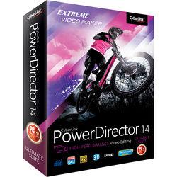 CyberLink PowerDirector 14 Ultimate Suite (Windows, DVD)