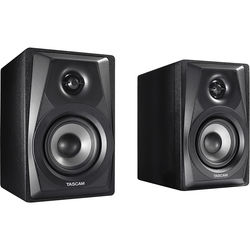 "Tascam VL-S3 14W + 14W 3"" Powered Studio Monitor (Pair, Black)"