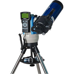 iOptron SmartStar Cube-E-MC90 Maksutov-Cassegrain Telescope System with Alt-Azimuth Mount (Blue)