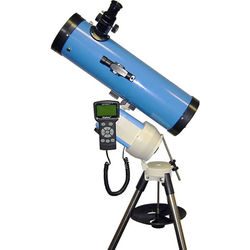 iOptron SmartStar Cube-A-N114 Newtonian Telescope System with Dual Mount (Blue)