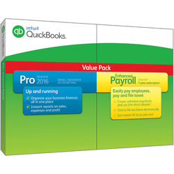 Intuit QuickBooks Pro with Enhanced Payroll 2016 (Download)