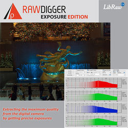 RawDigger RawDigger Software, Exposure Edition (Download)