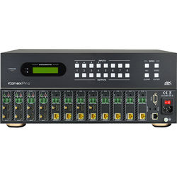 KanexPro 4K HDBaseT 8x8 Matrix Switcher with PoE