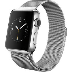 Apple Watch 38mm Smartwatch (2015, Stainless Steel Case, Milanese Loop Band)