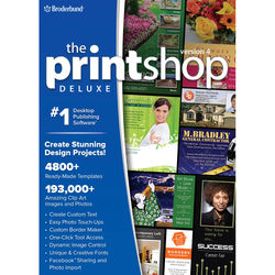 WD Encore Software The Print Shop Deluxe 4.0