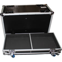 ProX ATA Flight Case for Two QSC-KW153 Speakers (Black)