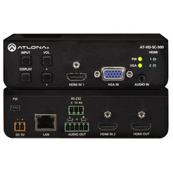 Atlona AT-HD-SC-500 3-Input Scaler for HDMI and VGA Signals