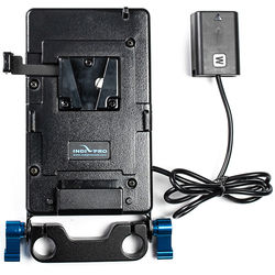 "IndiPRO Tools V-Mount Plate with Sony NP-FW50 Dummy Battery (20"")"