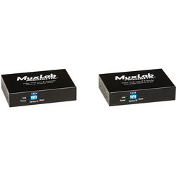 MuxLab HDMI / RS232 over IP Video Wall Extender Kit with PoE (330')