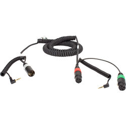 Ambient Recording HBS-ALEXA Coiled Mixer Cable