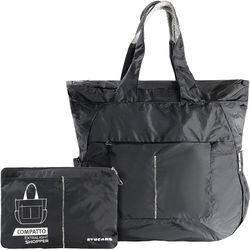 Tucano Extra-Light 20L Water-Resistant Shopping Bag (Black)