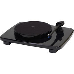 Music Hall ikura - Two-Speed Audiophile Turntable with Ortofon 2m Blue Cartridge (High Gloss Black)