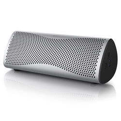 KEF MUO Portable Bluetooth Wireless Speaker (Light Silver)