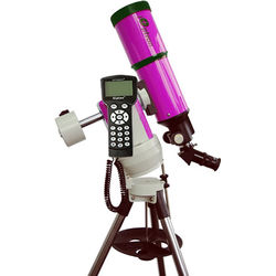 iOptron Cube-A-R80 SmartStar 80mm f/5 Refractor Telescope with GoTo Mount (Pulsar Pink)
